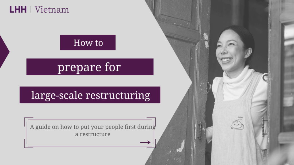 How to prepare for large-scale restructuring